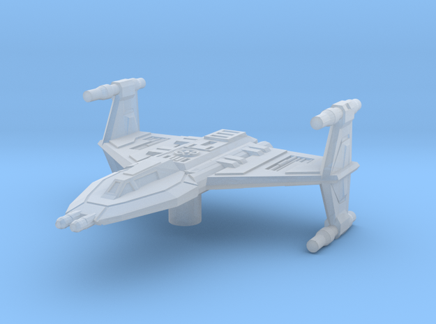Toscan Fighter 1/270  3d printed