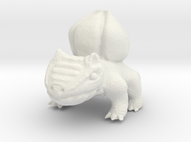 Bulbasaur in White Strong & Flexible
