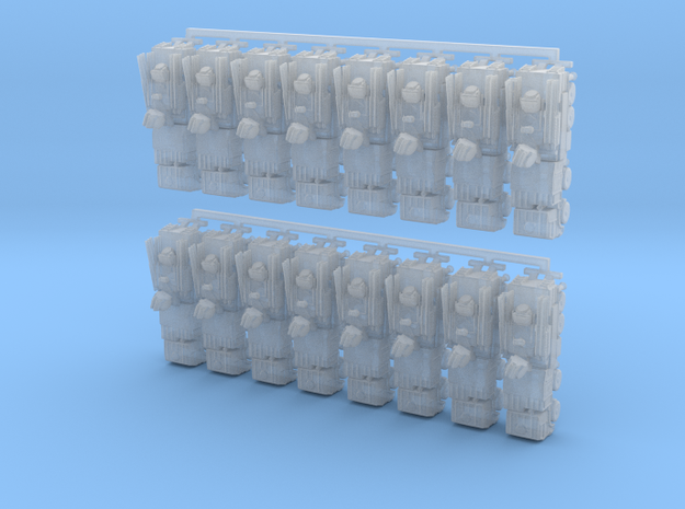 Russian S1 Pantsir Battery 3mm in Smooth Fine Detail Plastic