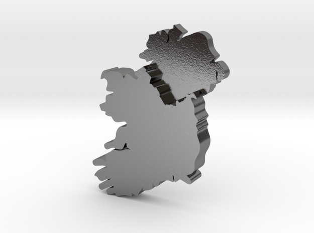 Ulster Earring in Polished Silver