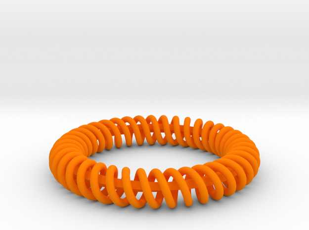 Twisted Bracelet 2  3d printed