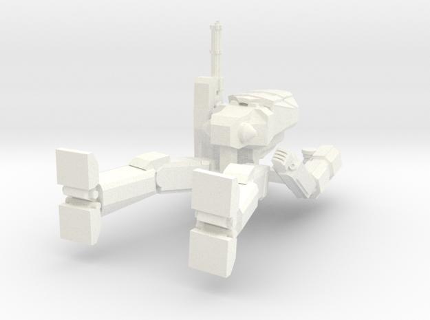 Chimera Walker Sprued in White Processed Versatile Plastic