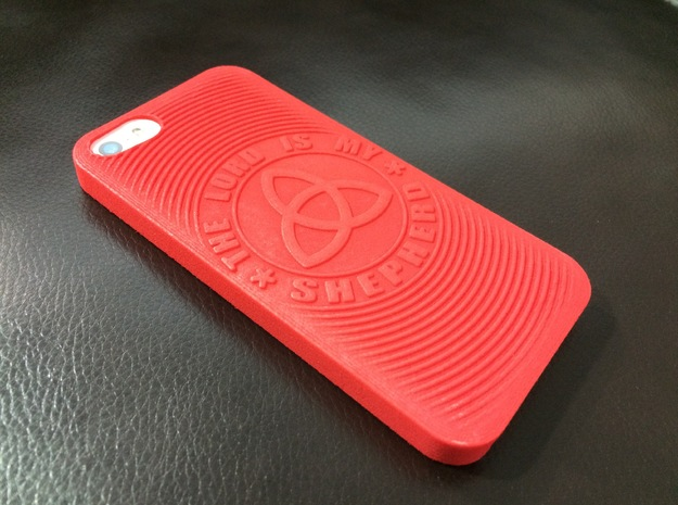 PS.23 Case - Original ( iPhone 5, 5S & SE ) in Red Strong & Flexible Polished
