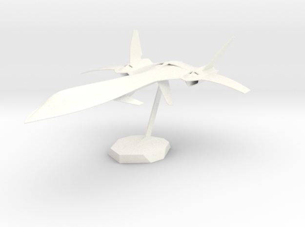 Xjet in White Processed Versatile Plastic