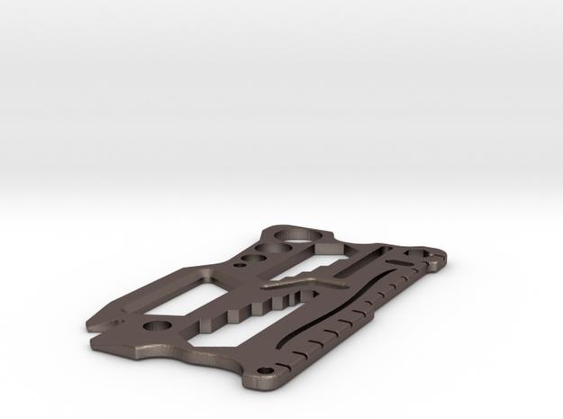 Steel Credit Card Tool V2.1 in Stainless Steel