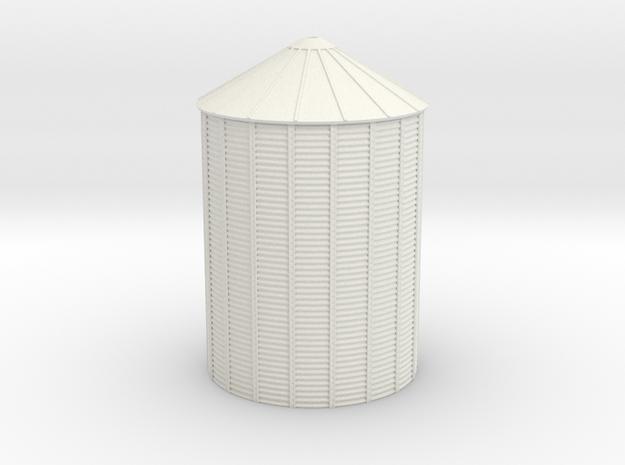 'N Scale' - Grain Bin - 36' dia.x48' Tall