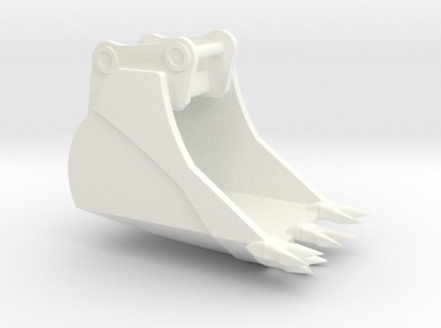 349 Frost Bucket1 in White Processed Versatile Plastic