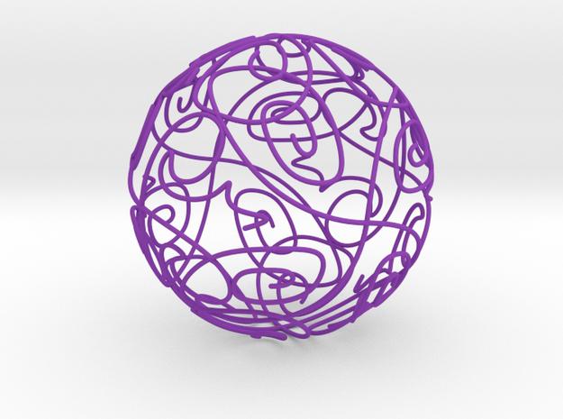 58 in Purple Processed Versatile Plastic