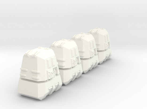 "Somtaaw ""Explorer"" Engineering Modules (4) 3d printed"
