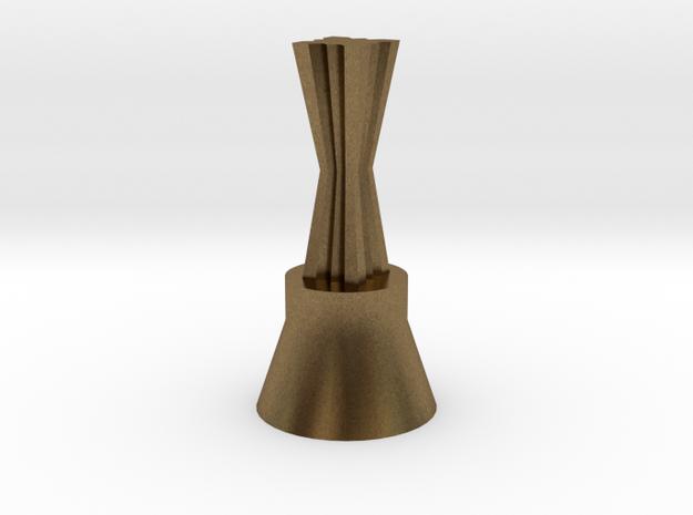 160322_ChessQueen_02 in Raw Bronze