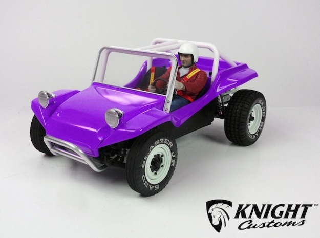 "SR40003 Beach Buggy Full Race Cage 3d printed PLEASE NOTE: This is only for the Full Race Cage parts. To buy a complete bodyset with this configuration please click ""Add Set to Cart"" button below."