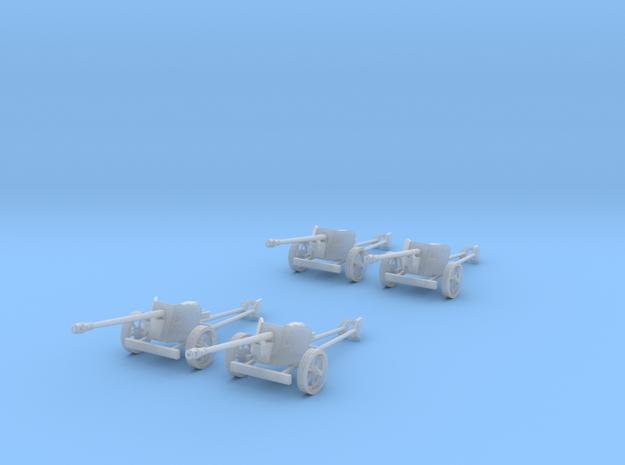 1/144 12mm scale Pak40 anti tank gun set of 4