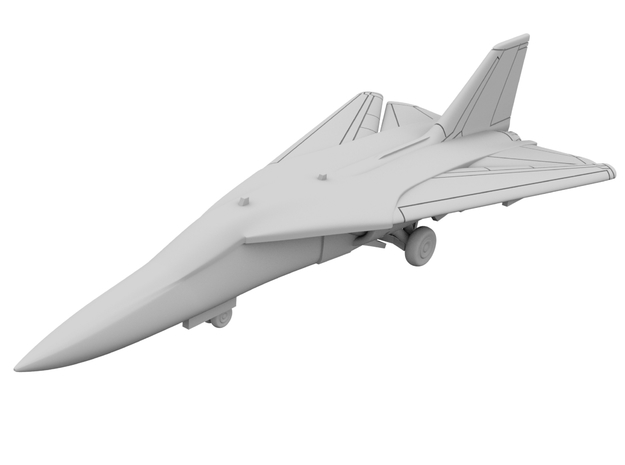 1:700 - F111 Aardvark [x2][A] in Smooth Fine Detail Plastic