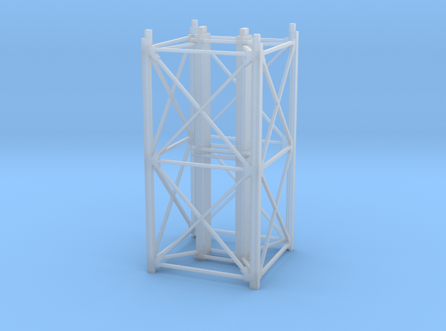 """1/64th """"S"""" Scale Grain Leg/Tower 20ft Section in Smooth Fine Detail Plastic"""