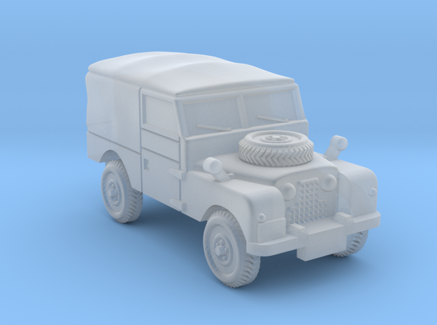 TT Gauge - Four By Four Landrover in Smooth Fine Detail Plastic