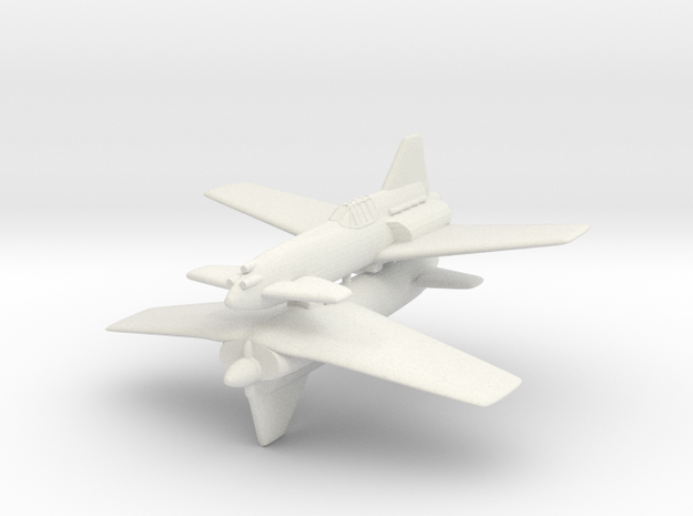 1/200 S.I.P.A. M224 (x2) in White Natural Versatile Plastic