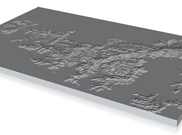 Model of Onetangi 3d printed