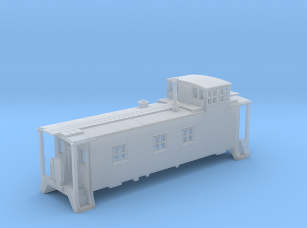 N scale DRGW 01400 Series Caboose