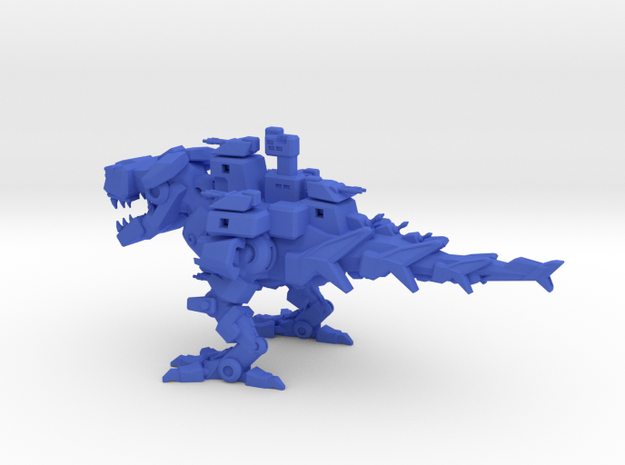 Battlesaurus in Blue Strong & Flexible Polished