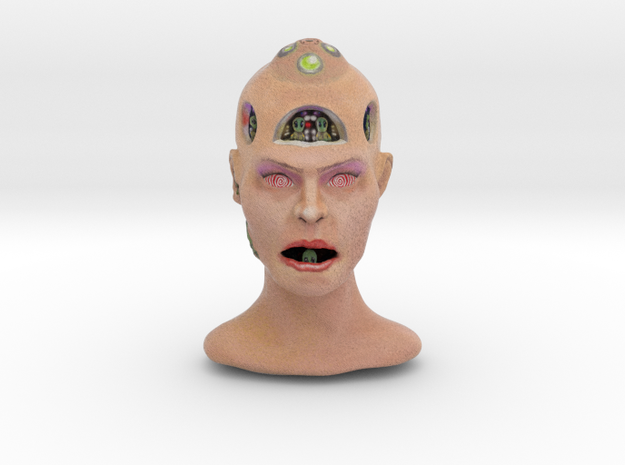 Alienhead in Full Color Sandstone