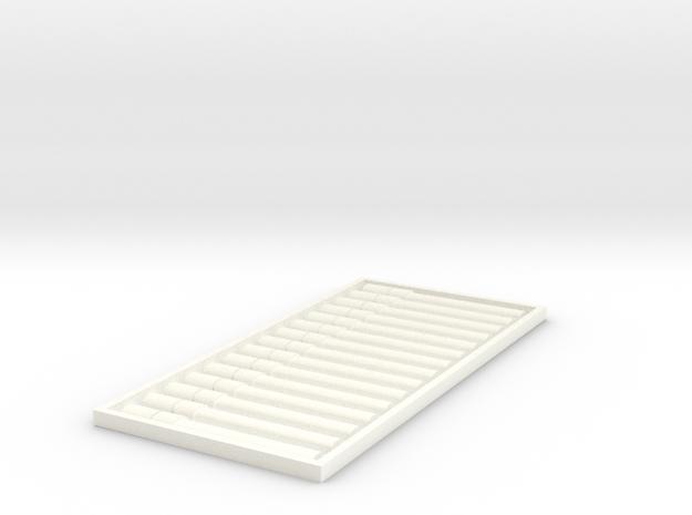 PillBoxe1 BT HG 2rPB Fixed in White Processed Versatile Plastic