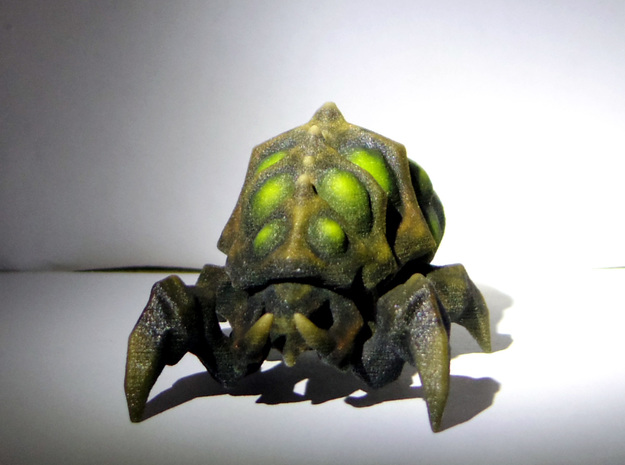 SC2 - Zerg Baneling - 38mm in Full Color Sandstone