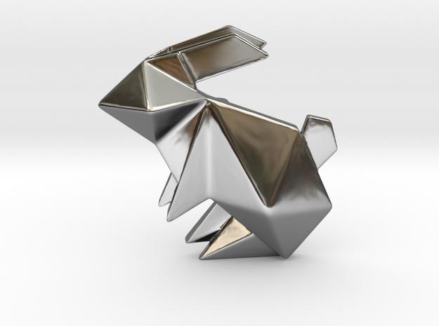 Origami Rabbit Pendant