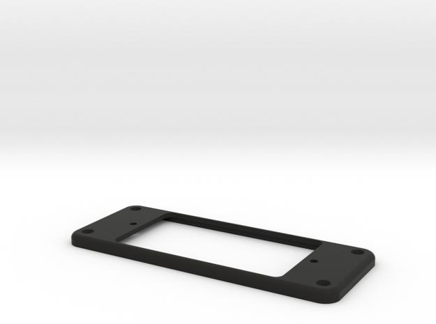 Univox Pickup Ring in Black Natural Versatile Plastic
