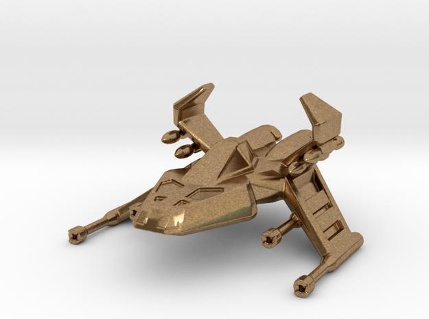 Pyro-GX - Descent - 50mm Metal in Raw Brass