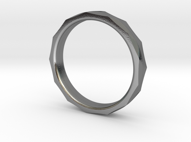 Engineers Ring - Size 6 US in Polished Silver
