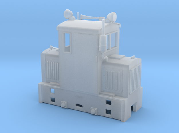 Freelance model shunter  On18 1/48 9mm in Smoothest Fine Detail Plastic