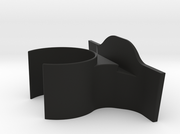 Tesla Iphone Cup Holder in Black Strong & Flexible