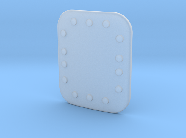 Soyuz Riveted Plate 22 X 26 in Smooth Fine Detail Plastic
