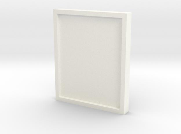Bee Hive Cover in White Processed Versatile Plastic