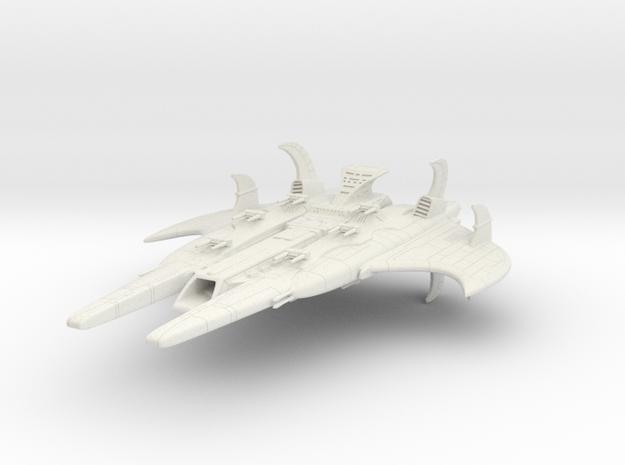 CR Royal Battleship in White Natural Versatile Plastic
