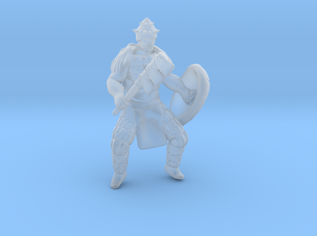 Shell Commander in Smooth Fine Detail Plastic