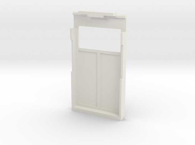 PO case back in White Natural Versatile Plastic