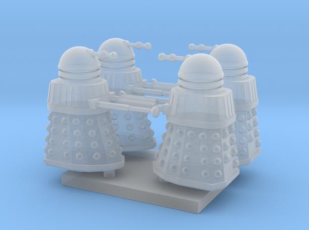 Dalek02 (4) N 160:1 Scale