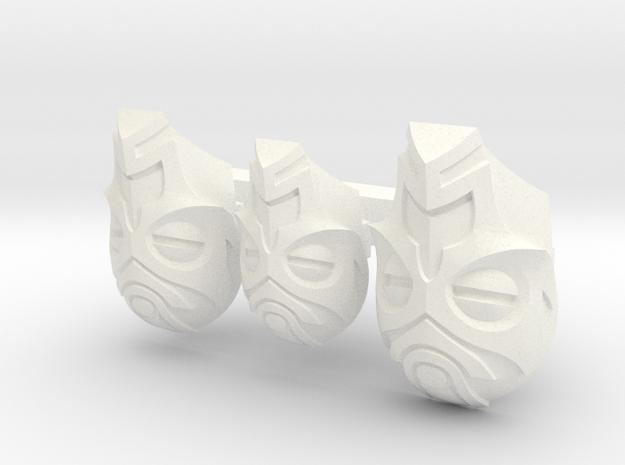 FOD-03-Fantasy Masks Pack for 6'' and 7'' Figures