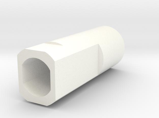 Mini BR Engine in White Processed Versatile Plastic