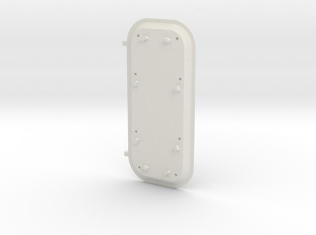Bal Door 1 in White Natural Versatile Plastic