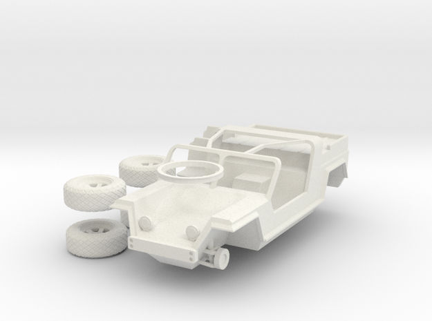 Xr311 in 1:48 in White Natural Versatile Plastic