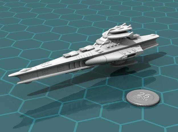 Novus Regency Battleship in White Strong & Flexible