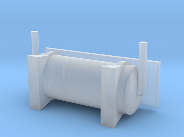 N Scale PRR L1 Front Air Cylinder in Smooth Fine Detail Plastic