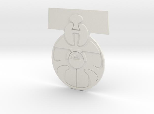 Medal Of Yavin  in White Natural Versatile Plastic