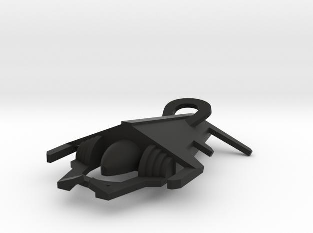 Toombs in Black Natural Versatile Plastic