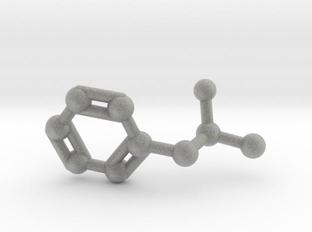 Amphetamine (Adderall, Speed) Molecule Keychain