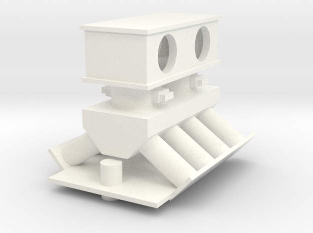 1/10 scale Intake Square Filter 2016 in White Processed Versatile Plastic