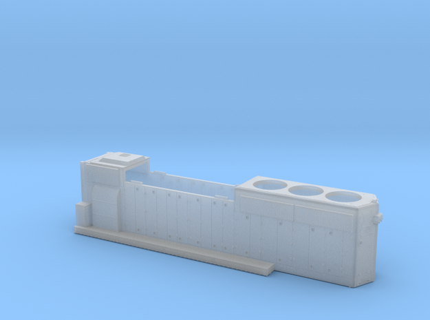 BO4287-4311 GP40-2 Hood 1/87.1  in Smoothest Fine Detail Plastic