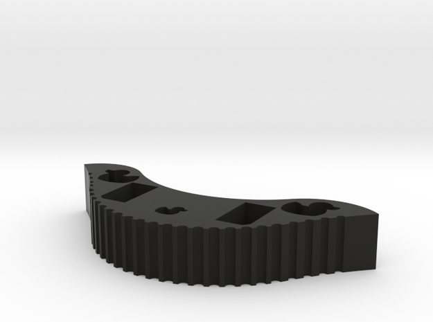 PuckDuck Knockoff~ in Black Natural Versatile Plastic